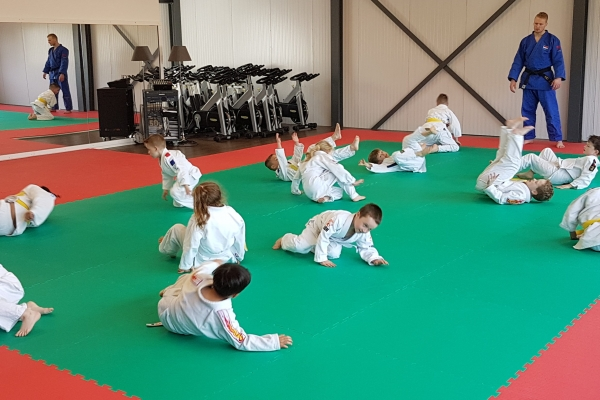 Judolessen bij ukemi voor alle leeftijden